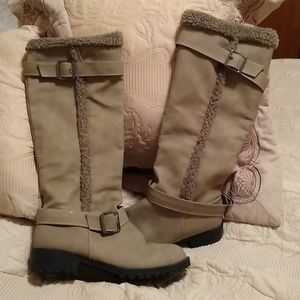 Boots. Not sure brand name.